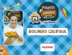 Bolinho Caipira com Farinha de Milho Brasil