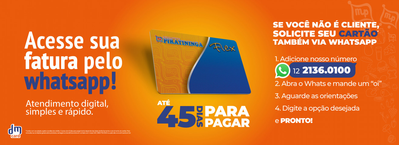 Banner Cartão DM Card Whatsapp 2020