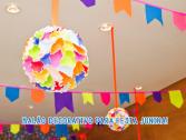 Balão Decorativo Junino Valves Festas!