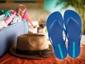 Sandálias Ipanema - Como arrumar a mala de viagem!