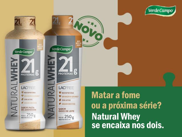 c2591e434 NATURAL WHEY Verde Campo - Por que Consumir! - Dicas Caseiras ...