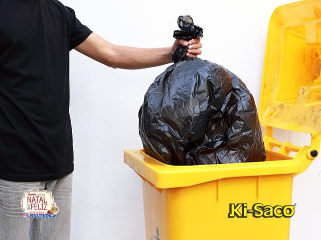 Lixo das festas de fim de ano deve ser reciclado!