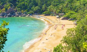 Praia do Jabaquara - Ilhabela!