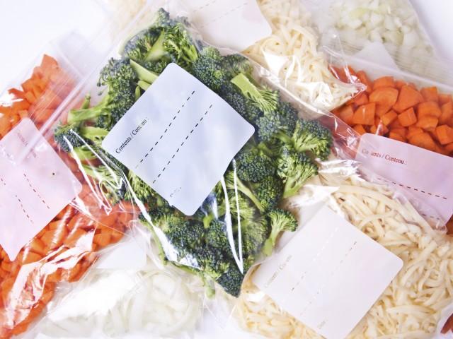 Como congelar legumes e verduras?
