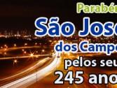 São José dos Campos faz aniversário!