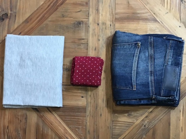 Como dobrar as roupas corretamente!
