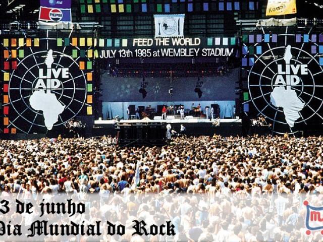 13 de junho – Dia Mundial do Rock