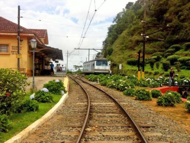 Estação Eugênio Lefévre em Sto Antº. do Pinhal!
