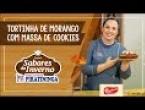 Tortinha de Morango com Massa de Cookies Bauducco
