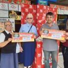 Entrega Vale-Compras Lar Vicentinos de Paraibuna e Instituto Santo Antônio!