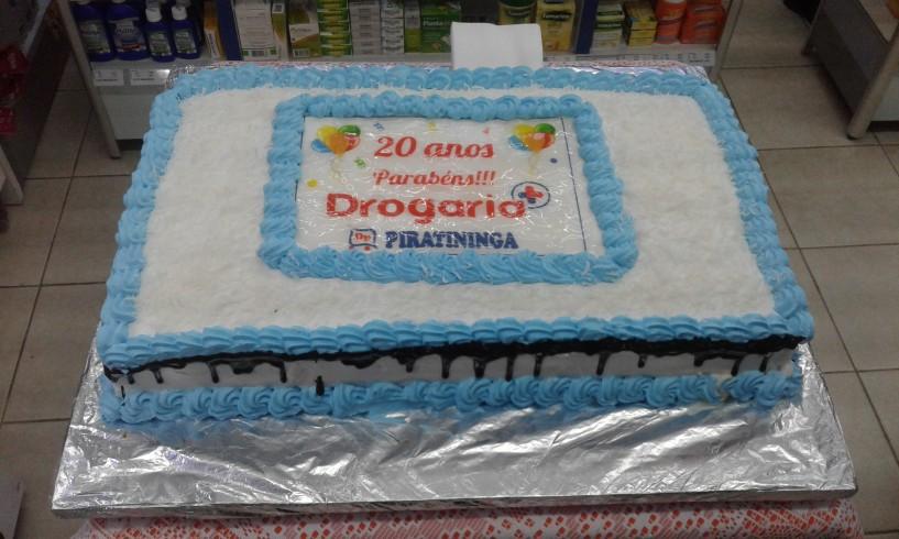 Aniversário de 20 anos Drogaria Piratininga!