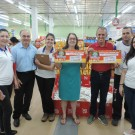 Entrega Vale-Compras Sociedade São Vicente de Paulo - São José dos Campos e Projeto Bem Me Quer!