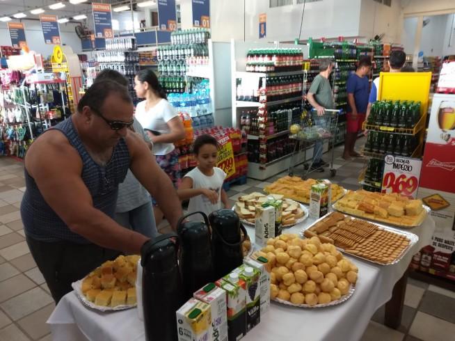 Café Dia dos Pais loja Caraguatatuba!