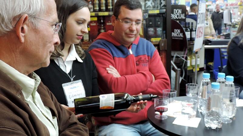 Palestra Sobre Harmonização de Vinhos Vinícola Salton!