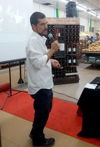 Palestra sobre Harmonização de Vinhos Vinícola Concha Y Toro Loja Jd. Paulista