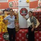 Ganhadora do Refrigerador Consul Biplex Promoção Natal Solidário em Dobro!