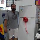 Ganhador do Refrigerador Consul Biplex Promoção Natal Solidário em Dobro!