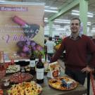 Os participantes inscritos aprenderam mais sobre os tipos de vinho e as formas de harmonização