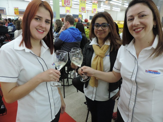 Palestra sobre Harmonização de Vinhos Aurora/ Mercadinho Piratininga