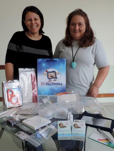 Entrega de Equipamentos Fonoaudiológicos Lar Nossa Sra. da Salette