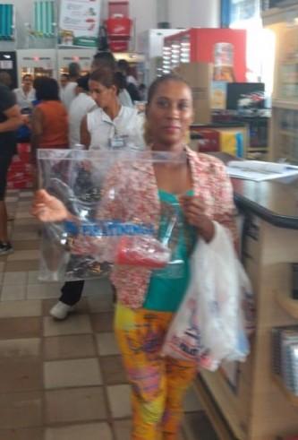 Ganhadora Promoção Verão da Sorte loja Caraguatatuba!