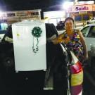 Ganhadora da Lavadora Eletrolux 10k Promoção Natal Solidário em Dobro!