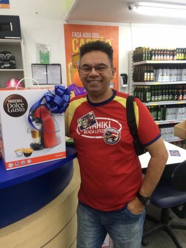 Ganhador da Cafeteira Dolce Gusto Promoção Natal Solidário em Dobro!