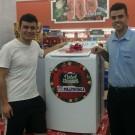 Ganhador da Lavadora Eletrolux 10k  Promoção Natal Solidário em Dobro!