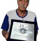 25 anos de empresa