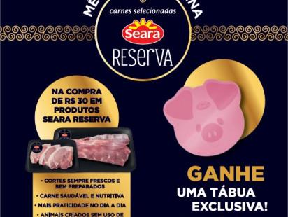 Promoção Compre & Ganhe Seara Reserva Suínos!