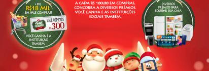 Natal Solidário em Dobro, é no Mercadinho Piratininga!