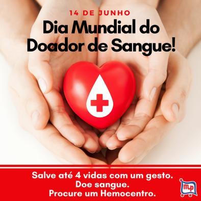 DIA MUNDIAL DO DOADOR DE SANGUE: Alerta para queda nas doações de sangue no inverno!