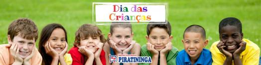 Dia das Crianças é no Mercadinho Piratininga! Distribuição Kit Desenho