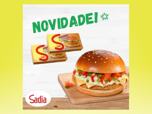 Novidade gastronômica Sadia!