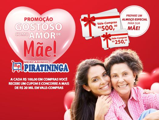 """""""Gostoso Como Amor de Mãe"""" Promoção Encerrada! Confira os Ganhadores."""