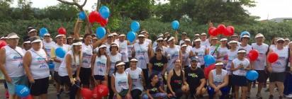 1ª Caminhada Solidária Viva Gentileza Mercadinho Piratininga Caraguatatuba