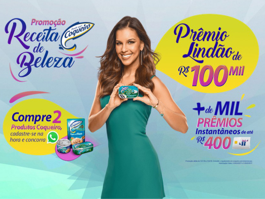 Promoção Receita de Beleza Coqueiro!