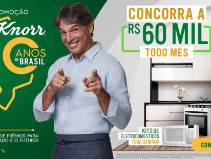 Promoção Knorr 60 Anos de Brasil!