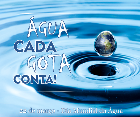 22 de Março - Dia Mundial da Água, mas a economia é todo dia!