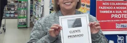 Saiu aqui, Ganhadora de R$ 1.000,00 no Cartão Piratininga Flex!!!