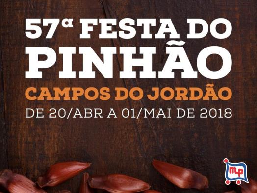 Mercadinho Piratininga apoia a Festa do Pinhão de Campos do Jordão!