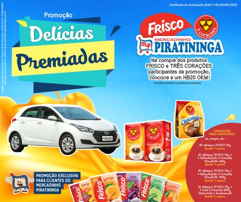 Promoção Delícias Premiadas