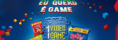 """Promoção """" Eu quero é Game"""" Ruffles!"""
