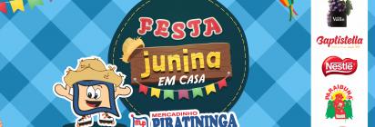 Festa Junina em Casa do Mercadinho Piratininga