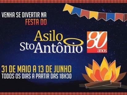 Festa Junina Asilo Santo Antônio!