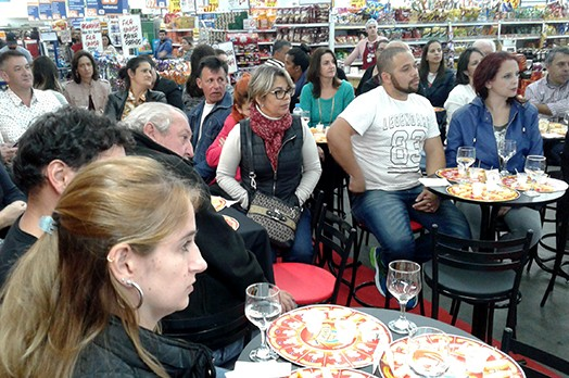 Evento de Degustação Comentada de Queijos Tirolez é sucesso entre os clientes de Campos do Jordão!