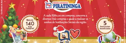 """Promoção de Natal """"Realizando Sonhos"""" - Mercadinho Piratininga!"""
