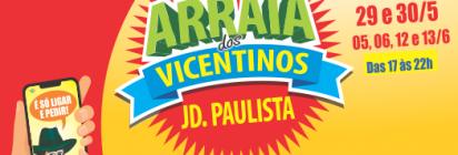 O Arraiá dos Vicentinos Jardim Paulista Já Vai Começar!
