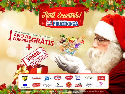 Mercadinho Piratininga lança Promoção de Natal!