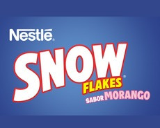 Nestle Snow Flakes Morango